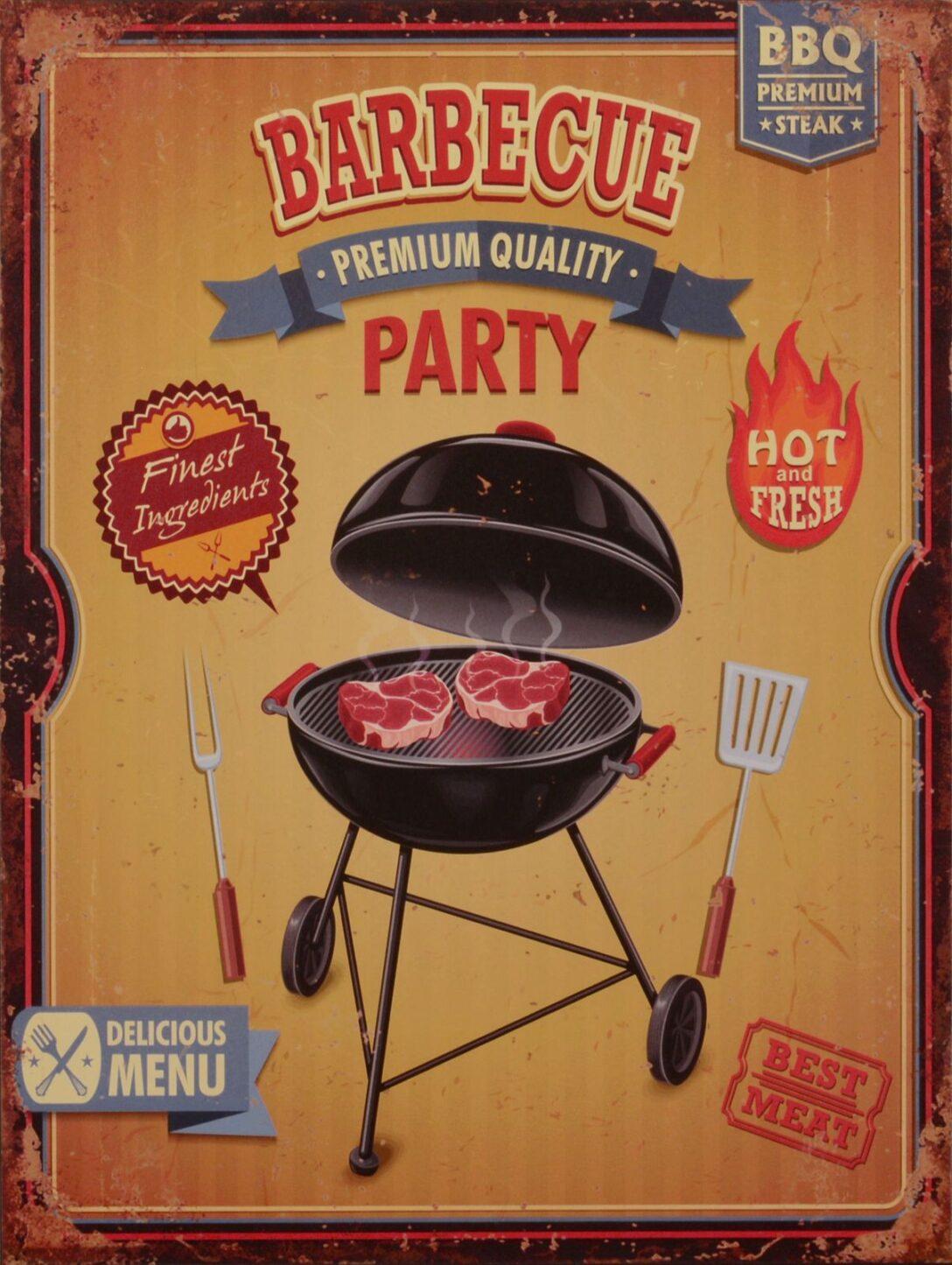 Large Size of Bleschschild Barbecue Kche Amerika Nostalgie Garten Deko Grill Outdoor Küche Edelstahl Amerikanisches Bett Amerikanische Kaufen Küchen Regal Betten Wohnzimmer Amerikanische Outdoor Küchen