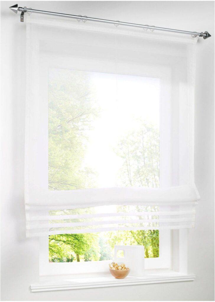 Medium Size of Raffrollo Küchenfenster Transparentes Einfarbig Küche Wohnzimmer Raffrollo Küchenfenster