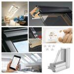 Veluintegra Dachfenster Ggl 306821 Elektrofenster Aus Holz Velux Fenster Ersatzteile Preise Kaufen Einbauen Rollo Wohnzimmer Velux Scharnier