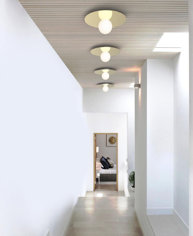Full Size of Pablo Designs Bola Disc Flush Wand Deckenleuchten Messing Küche Industriedesign Esstische Design Designer Regale Lampen Esstisch Bad Badezimmer Schlafzimmer Wohnzimmer Design Deckenleuchten