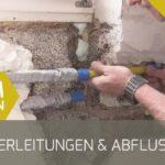 Wasseranschluss Küche Wasserleitungen Und Abflussrohr Verlegen Youtube Klapptisch Kaufen Günstig Industrie Schmales Regal Möbelgriffe Wandbelag Raffrollo Wohnzimmer Wasseranschluss Küche