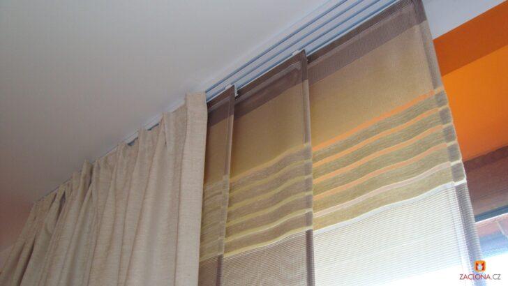 Medium Size of 2 In 1nem Oder Glatte Paneele Und Geraffte Vorhnge Gemeinsamer Vorhänge Küche Wohnzimmer Schlafzimmer Wohnzimmer Vorhänge Schiene