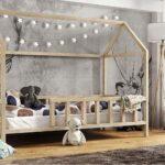 Coole Kinderbetten Kinderbett Hausbett Mit Rausfallschutz Holz Bett T Shirt Sprüche T Shirt Betten Wohnzimmer Coole Kinderbetten