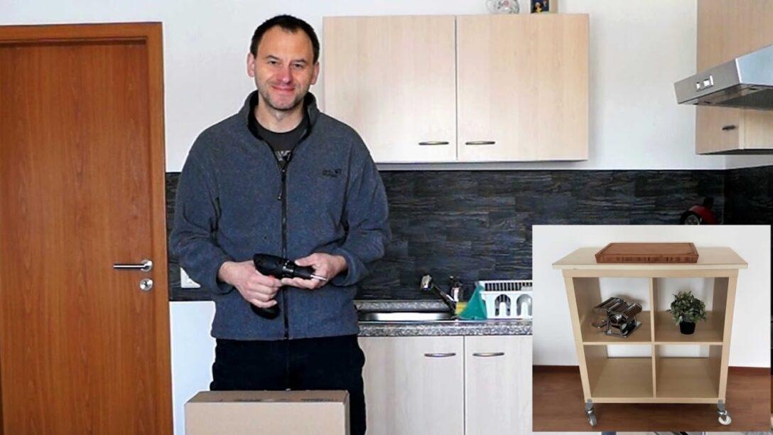 Large Size of Mobiler Kchen Arbeitstisch Unter 50 Euro Youtube Theke Küche Abluftventilator Magnettafel Günstig Mit Elektrogeräten Kleine Einrichten Lüftung Wohnzimmer Mobile Küche Ikea