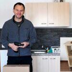 Mobile Küche Ikea Wohnzimmer Mobiler Kchen Arbeitstisch Unter 50 Euro Youtube Theke Küche Abluftventilator Magnettafel Günstig Mit Elektrogeräten Kleine Einrichten Lüftung