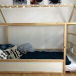 Rausfallschutz Selbst Gemacht Diy Hausbett Mit Ikea Kura Hack Bett Küche Zusammenstellen Wohnzimmer Rausfallschutz Selbst Gemacht