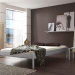 Metallbett 100x200 Dico Iris Betten Bett Weiß Wohnzimmer Metallbett 100x200