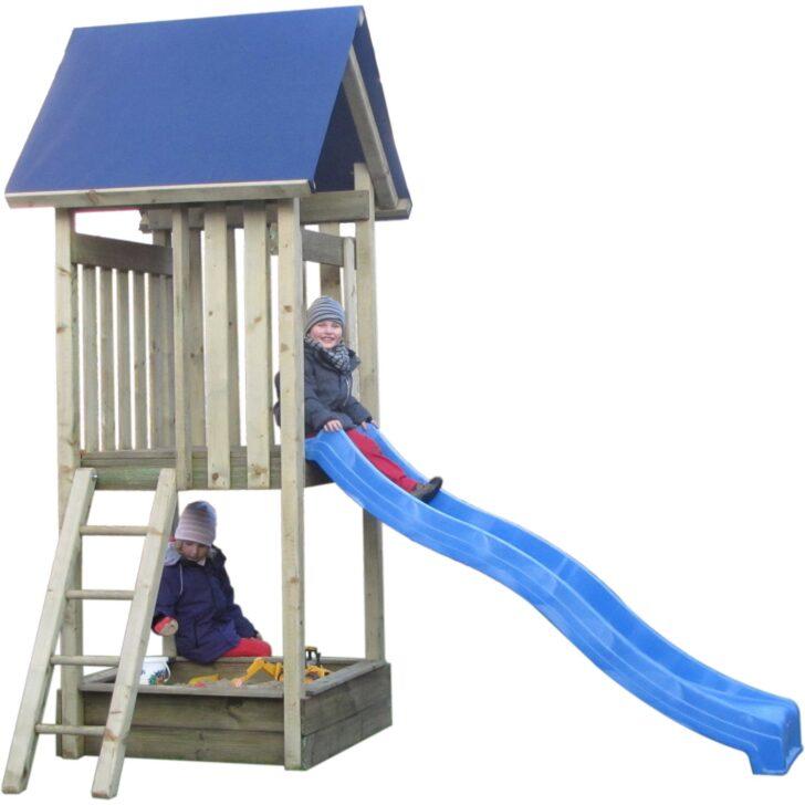 Medium Size of Spielturm Bauhaus Erik Mit Rutsche Blau 302 Cm 120 177 Kdi Kinderspielturm Garten Fenster Wohnzimmer Spielturm Bauhaus