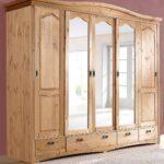 Kleiderschrank Schlafzimmerschrank Kiefer Massiv Natur 249cm 5 Wohnzimmer Schlafzimmerschränke