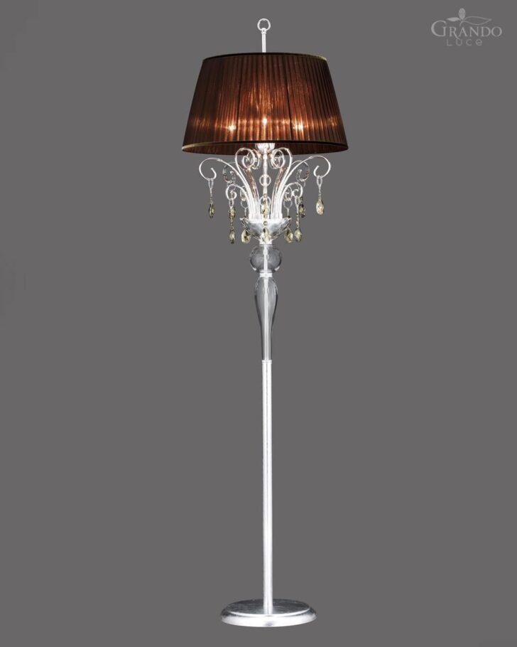 Medium Size of Stehleuchte Klassisch Metall Mit Swarovski Kristall Wohnzimmer Stehlampe Schlafzimmer Stehlampen Wohnzimmer Kristall Stehlampe