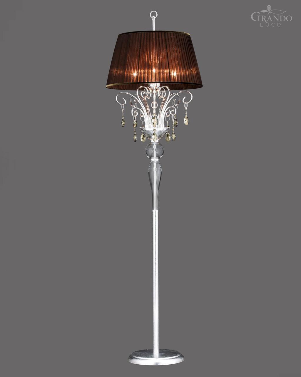 Full Size of Stehleuchte Klassisch Metall Mit Swarovski Kristall Wohnzimmer Stehlampe Schlafzimmer Stehlampen Wohnzimmer Kristall Stehlampe