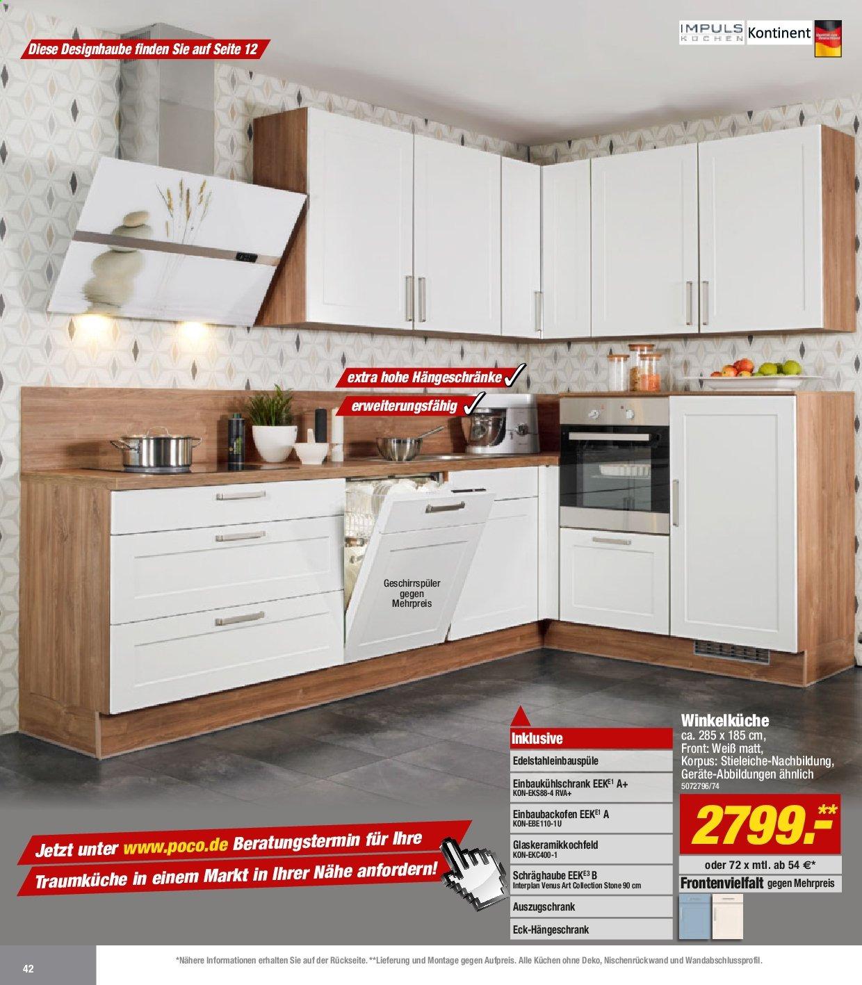 Full Size of Poco Küche Big Sofa Bett Betten Schlafzimmer Komplett 140x200 Wohnzimmer Küchenzeile Poco