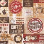 Tapete Kaffee Kche Rotbraun 33480 1 Küche Günstig Mit Elektrogeräten Sitzbank Lehne Pentryküche Wasserhahn Wandanschluss Kleiner Tisch L E Geräten Wohnzimmer Tapete Küche Kaffee