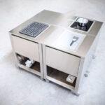 Mobile Outdoorküche Outdoorkche Cun Von Jokodomus System Küche Wohnzimmer Mobile Outdoorküche