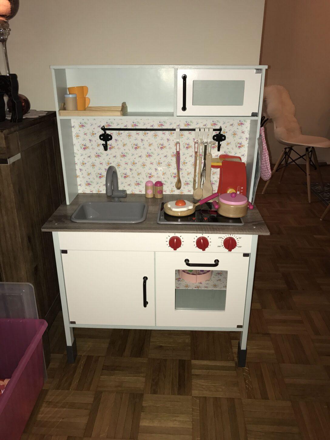 Large Size of Lidl Kindekche Aufgepimpt Mit Bildern Kinderkche Küchen Regal Wohnzimmer Lidl Küchen