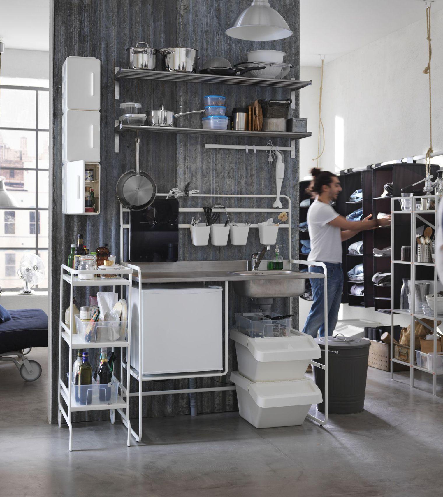Full Size of Ikea Sunnersta Google Minikche Modulküche Freistehende Küche Musterküche Schmales Regal Fliesen Für Aufbewahrungsbehälter Deckenlampe Landküche Buche Wohnzimmer Single Küche Ikea
