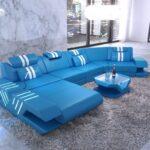 Moderne Leder Couch Venedig C Form Mit Ottomane Und Beleuchtung Gebrauchte Betten Graues Bett Aufbewahrungssystem Küche Sonnenschutz Garten Sichtschutz Für Wohnzimmer Sofabezug U Form
