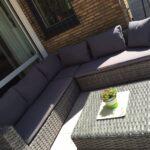 Couch Terrasse Wohnzimmer Couch Terrasse Lounge Sofa Auf Der Tv Blau Wei Bottrop Ev