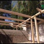 Konny Prsentiert Bau Dir Eine Pergola Mit Spayoutube Massivholz Bett Fliesen In Holzoptik Bad Loungemöbel Garten Holz Waschtisch Regal Weiß Modernes Sofa Wohnzimmer Holz Pergola Modern