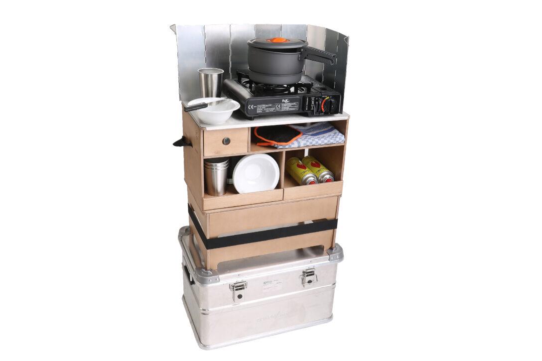 Large Size of Mobile Outdoorküche Das Wahnsinnig Praktische Ding Nakatanenga Kchenbox Küche Wohnzimmer Mobile Outdoorküche