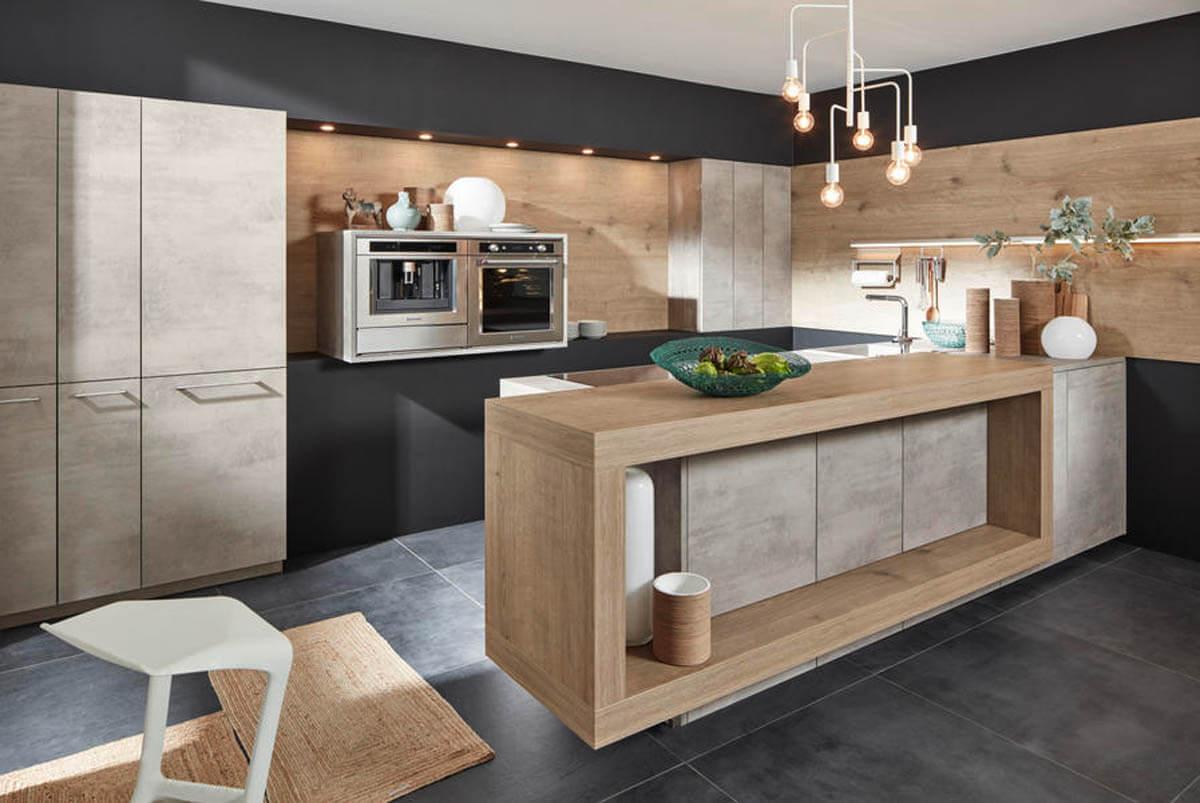 Full Size of Alternative Küchen Beton Kchen Im Vergleich Bilder Von Nobilia Regal Sofa Alternatives Wohnzimmer Alternative Küchen