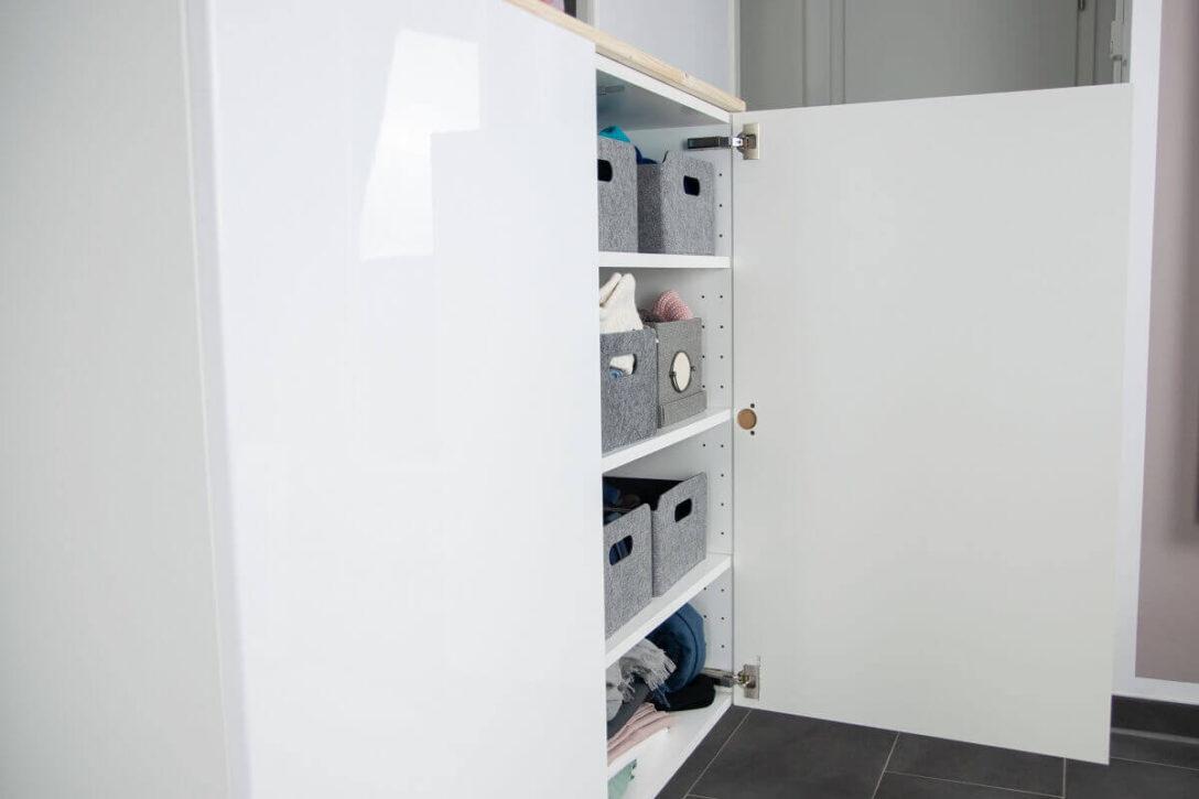Large Size of Ikea Vorratsschrank Hack Fr Mehr Stauraum Im Flur Aus Kchenschrank Wird Sideboard Betten 160x200 Küche Kosten Kaufen Bei Sofa Mit Schlaffunktion Modulküche Wohnzimmer Ikea Vorratsschrank