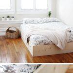 Flaches Bett Selber Bauen12 Einmalige Diy Und Bettrahmen Ideen Weißes 140x200 Kaufen Günstig Amerikanisches Betten Für übergewichtige 120 X 200 Weiß Wohnzimmer Flaches Bett