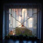 Fensterdekoration Küche Weisse Landhausküche Fliesenspiegel Lüftung Led Beleuchtung Einlegeböden Wandregal Küchen Regal Mini Edelstahlküche Gebraucht Wohnzimmer Fensterdekoration Küche