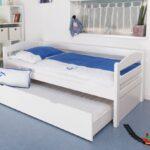 Jugendbett 90x200 Kiefer Bett Mit Schubladen Weiß Lattenrost Und Matratze Bettkasten Weißes Betten Wohnzimmer Jugendbett 90x200