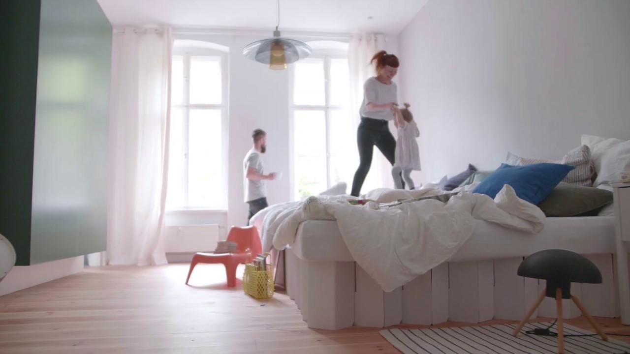Full Size of Pappbett Ikea Room In A Bobett 20 Belastungstest Youtube Sofa Mit Schlaffunktion Küche Kosten Miniküche Kaufen Betten Bei Modulküche 160x200 Wohnzimmer Pappbett Ikea
