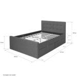 Ausziehbares Doppelbett Ikea Ausziehbare Doppelbettcouch Ihr 24h Gartenmbel Shop Polsterbett Mit Bettkasten 140x200 Bett Wohnzimmer Ausziehbares Doppelbett