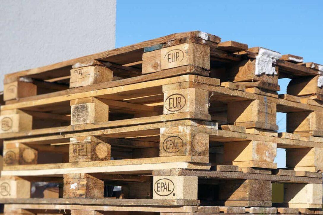 Large Size of Palettenbett Ikea 140x200 In 3 Stunden Ein Bett Aus Europaletten Bauen Küche Kosten Betten Bei 160x200 Kaufen Sofa Mit Schlaffunktion Modulküche Miniküche Wohnzimmer Palettenbett Ikea