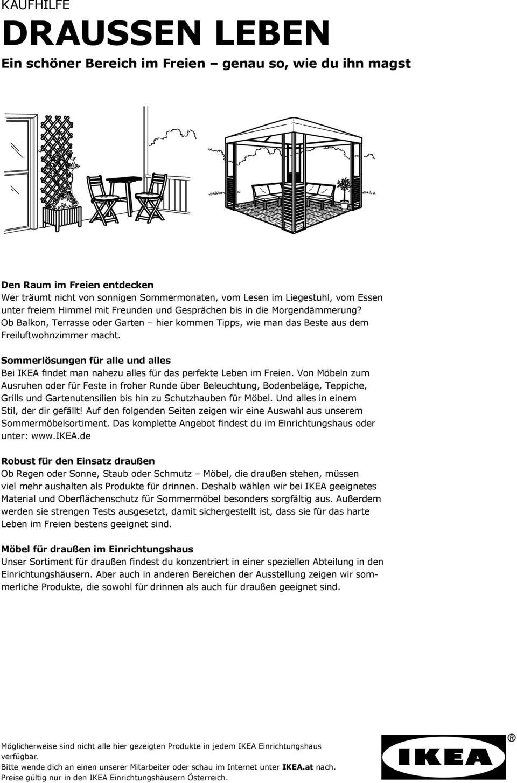 Full Size of Ikea Liegestuhl Garten Kaufhilfe Draussen Leben Ein Schner Bereich Im Freien Genau So Kinderhaus Lärmschutzwand Kosten Lounge Möbel Zeitschrift Ecksofa Wohnzimmer Ikea Liegestuhl Garten