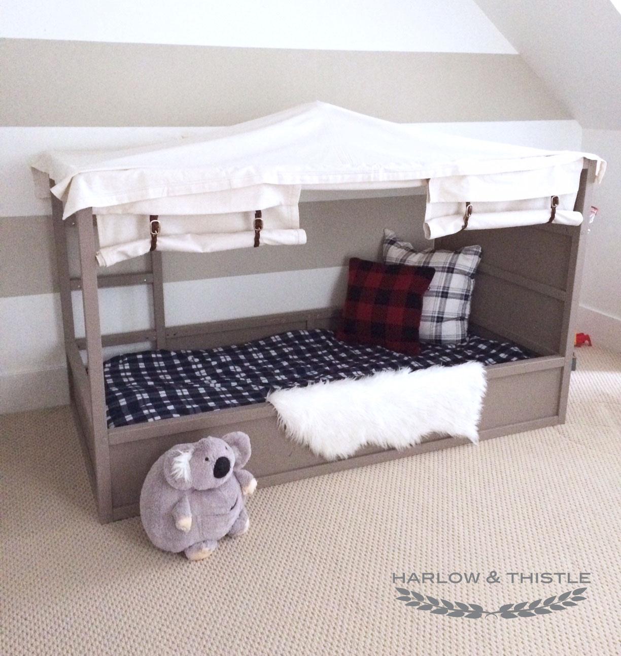Full Size of Kura Hack Ikea Bed Diy Boy Canopy Harlow Thistle Home Wohnzimmer Kura Hack