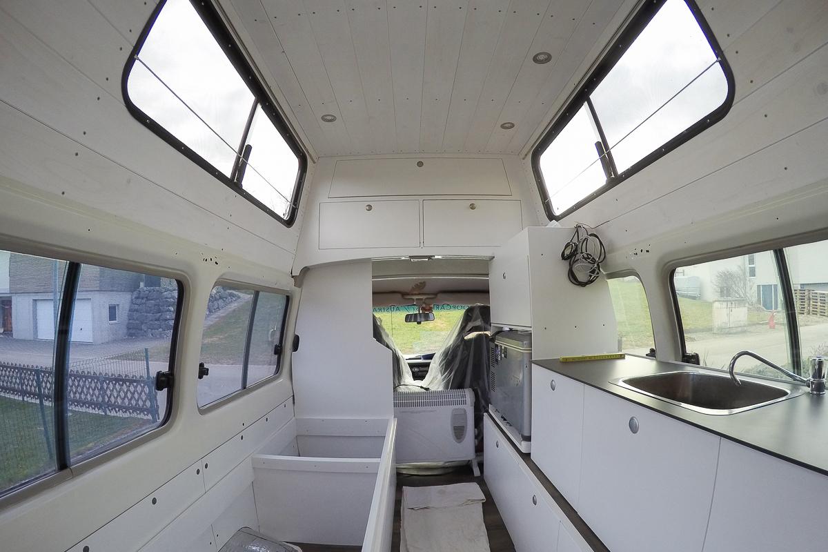 Full Size of Ausziehbett Camper Mbel Bauen Fr Unseren Land Cruiser Swiss Nomads Bett Mit Wohnzimmer Ausziehbett Camper