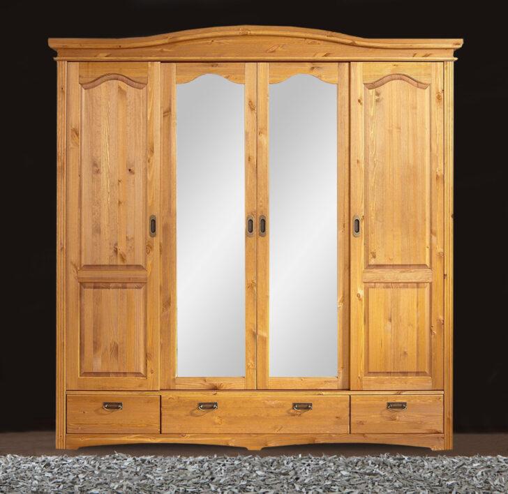 Medium Size of Schlafzimmerschränke Kleiderschrank Schlafzimmerschrank Kiefer Massiv Natur 202cm 4 Wohnzimmer Schlafzimmerschränke