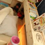 Kinderbett Diy Aus Europaletten Palettenmbel Von Saris Garage Wohnzimmer Kinderbett Diy