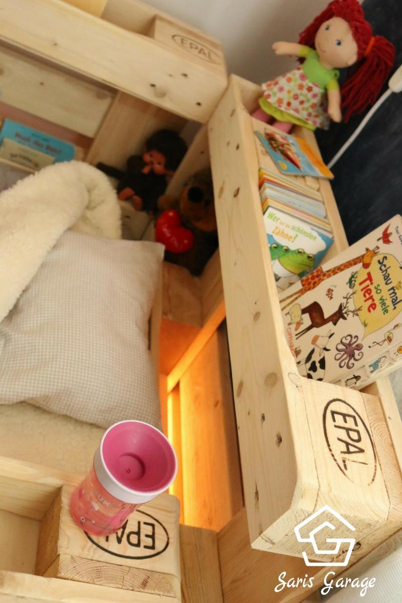 Full Size of Kinderbett Diy Aus Europaletten Palettenmbel Von Saris Garage Wohnzimmer Kinderbett Diy