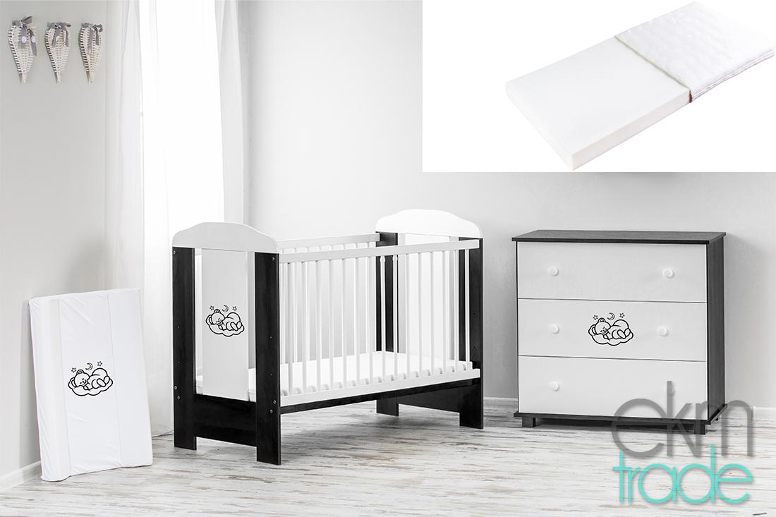 Full Size of Schwarz Wei Kinderbett 120 60 Cm Mit Matratze Schwarze Küche Bett 180x200 Schwarzes Weiß Wohnzimmer Babybett Schwarz