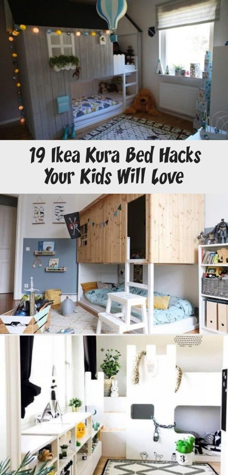 Medium Size of Kura Hack Ikea Bed Storage Floor Slide Hacks Montessori House Ideas Excellent Pictures 19 Your Kids Will Love It Wohnzimmer Kura Hack