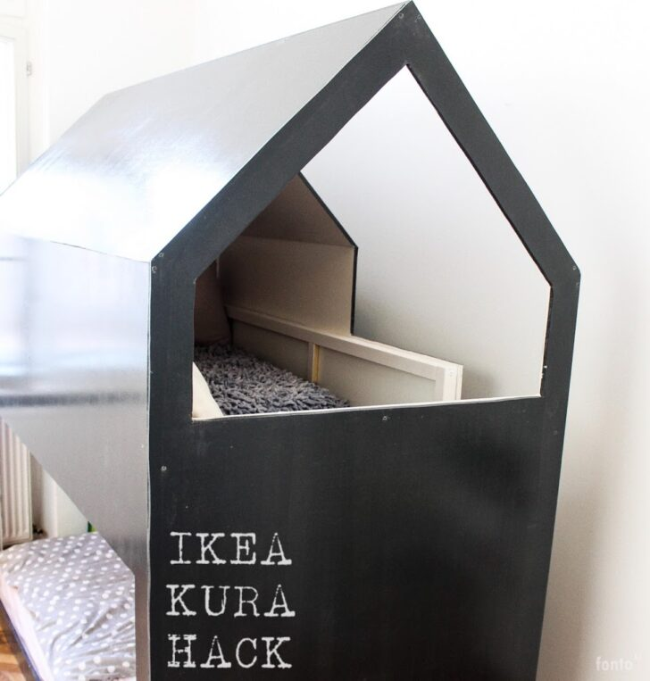 Medium Size of Ikea Kura Hack Stairs Bed Storage Floor House Bunk Wiemadamewohnt Madame M Wohnzimmer Kura Hack