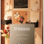 Memoboard Küche Diy Schicke Ordnung An Der Wand Nolte Miniküche Mit Kühlschrank Kräutergarten Laminat In Arbeitsplatte Tapete Pendeltür Schrankküche Wohnzimmer Memoboard Küche