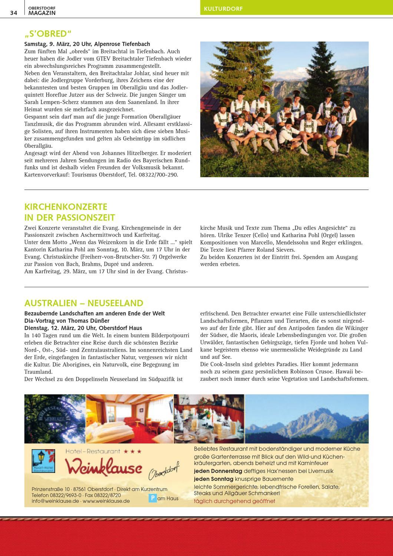 Full Size of Oberstdorf Magazin 3 2013 By Tourismus Wohnzimmer Küchenkräutergarten