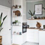Küche Einrichten Ideen Kleine Kchen Grer Machen So Gehts L Form Holzregal Landhausküche Weiß Gebrauchte Verkaufen Schwarze Granitplatten Holzküche Ikea Wohnzimmer Küche Einrichten Ideen