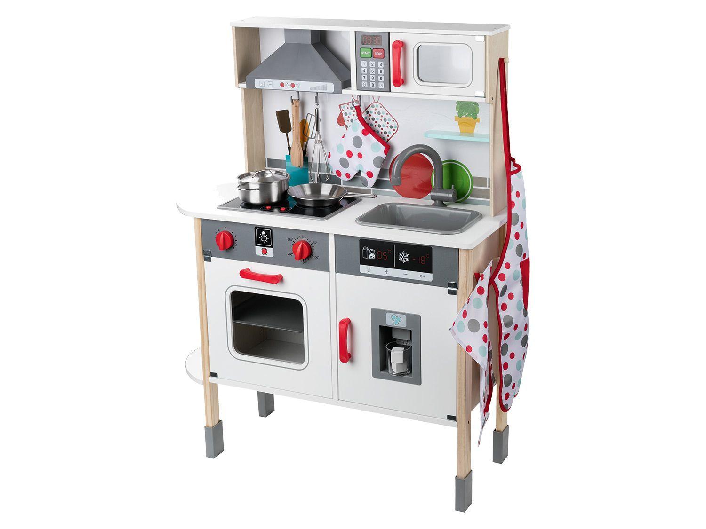 Full Size of Playtive Junior Spielkche Mit Viel Zubehr Lidl Küchen Regal Wohnzimmer Lidl Küchen