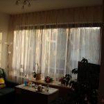 Fensterdekoration Gardinen Beispiele Feinen Mit Muster Als Effektvolle Schlafzimmer Für Die Küche Scheibengardinen Wohnzimmer Fenster Wohnzimmer Fensterdekoration Gardinen Beispiele