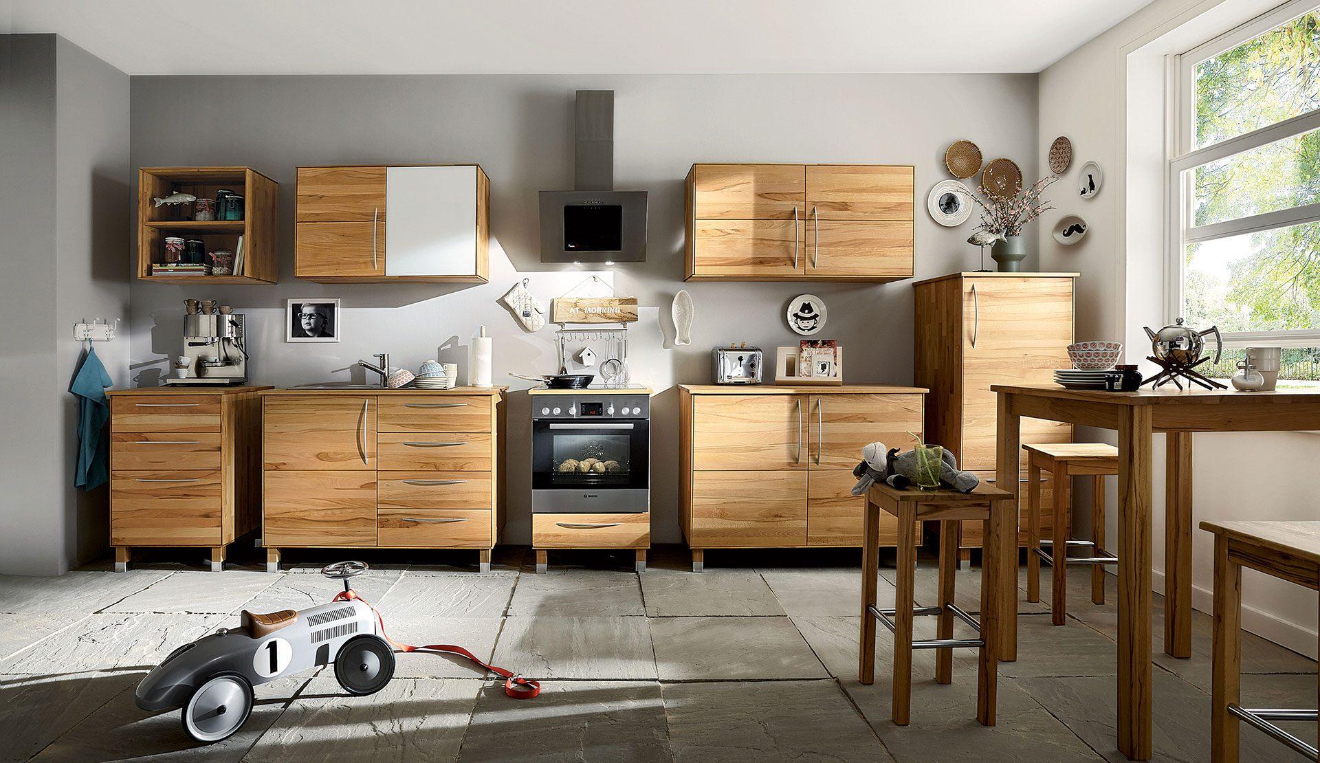 Full Size of Küchenmöbel Kchen Aus Massivholz Wohnzimmer Küchenmöbel
