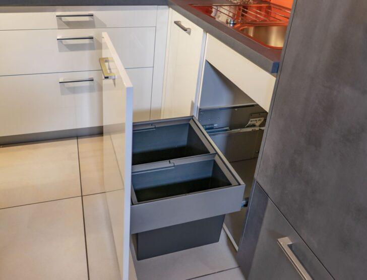 Medium Size of Müllsystem Kche Mit Integriertem Mllsystem Ausstellungskche Jetzt Nur Küche Wohnzimmer Müllsystem