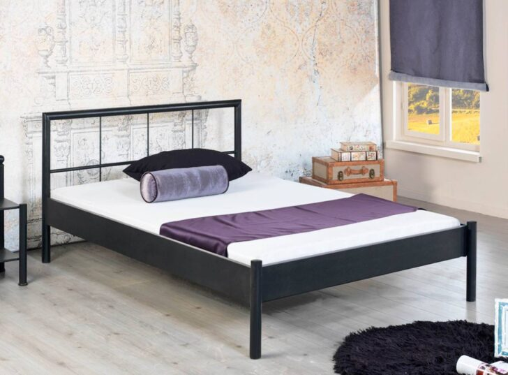Medium Size of Metallbett Daisy 1009 Schwarz Lackiert Verschiedene Gren Bett 100x200 Betten Weiß Wohnzimmer Metallbett 100x200