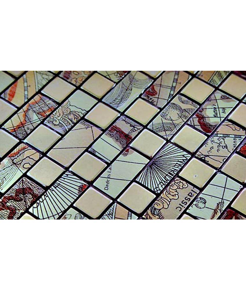Full Size of Selbstklebende Mosaikfliesen Tomsk Gold Gemustert Mosaic Outlet Fliesenspiegel Küche Selber Machen Glas Fliesen Für Dusche Badezimmer Holzfliesen Bad Wohnzimmer Selbstklebende Fliesen